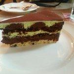 Gâteau pistache - chocolat