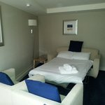 Sofa bed in adjoining room