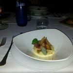 Le must : Purée de papaye verte, Rognons, bananes jaunes, foie gras et noix de cajou. MIAM