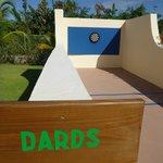 """""""Dards"""" Board @ Sports Bar Area"""