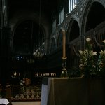 The Cathedral's altar