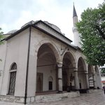 Beautiful historic mosque in old town