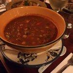 Harira Soup: Spicy Lamb, Chickpea & Lentil Soup $14