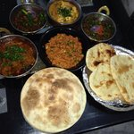 Finished product, heaven when you love indian food!