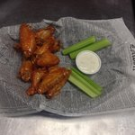 10 wings..your choice mild medium or hot