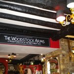 the woodstock Arms, Woodstock