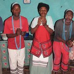 Xhosa family singing their traditional songs