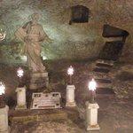 Statue in museum Mdina