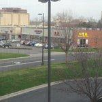 Restaurants across the street