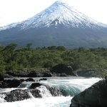 Vista al Volcán Osorno