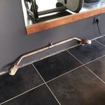 rusty gym tool... nit safe