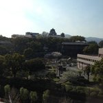 Kumamoto Hotel Castle, view from room