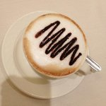 BEST cappuccino we had in all of Italy! As much as you want, made and brought to you.