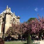 Paris on a sunny April day