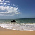 Beach five minutes walk away