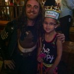 Lily and her favorite Green Knight