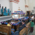 "The ""anda"" in preparation for Holy Week processions"