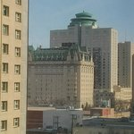 View from my room on Fort Garry (and Donut place)