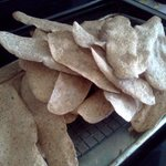 Flatbreads out of the oven