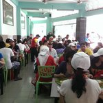 crowd for good Indian food