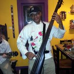 Chef Jim Copening on bass