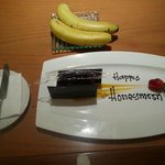 Complimentary small cake sent to our room.