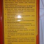 Emergency mask instruction