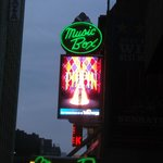 Pippin marquee @ The Music Box Theater