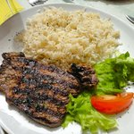 Steak with Rice