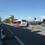Bus - near Calais Ville station