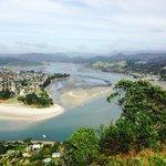 Uitzicht vanuit Mount Puku