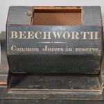 Jury ballot box