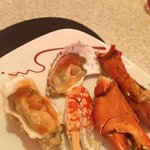 Fresh Oyster and Crab.. That's my favorite..