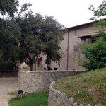 L'ingresso al monastero