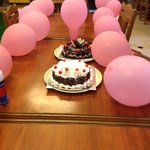 Celebration Time in Hotel