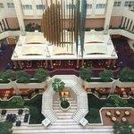 Udsigt over hotellets lobby