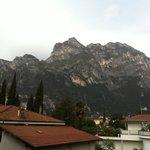 vista dal balconcino dell'hotel Gardesana