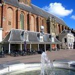 Amersfoort Sint-Joriskerk altından görüntü