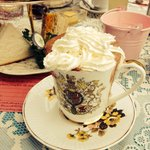 Hot chocolate and afternoon tea