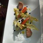 Saumon foie gras