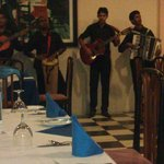 Live music in restaurant