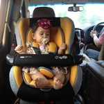 They resort provided a carseat for Sky Madison!
