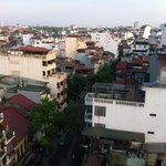 Hanoi view from 12th floor suite room