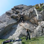 spots d'escalade pointe de Primel Trégastel à Plougasnou