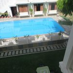 the pool, viewed from room 22