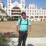 at hotel premises