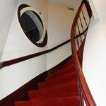 curvy stairs