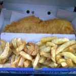 Perfect fish and chips