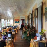 verandah dinning area
