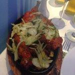 Special tandoori mixed grill - yummy!!